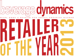 2013 National Retailer of the Year - Beverage Dynamics