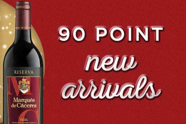 90-Point New Arrivals   WineTransit.com