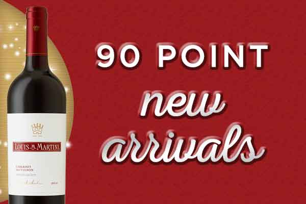 90 Point New Arrivals at WineTransit.com
