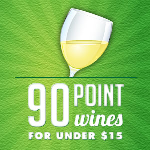 90-Point Wines for Under $15 at WineMadeEasy.com