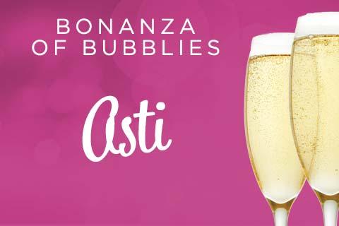Bonanza of Bubblies - Asti | WineTransit.com