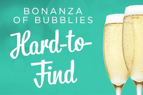Bonanza of Bubblies - Hard-to-Find | WineTransit.com