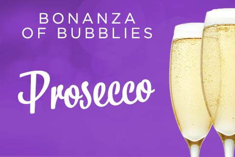 Bonanza of Bubblies - Proseccos | WineTransit.com
