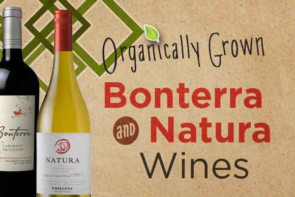 Bonterra and Natura Organically Grown Wines | WineTransit.com