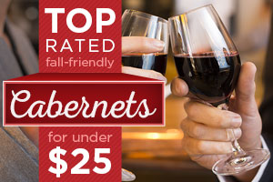 Top-Rated Cabernets for under $25 | WineDeals.com