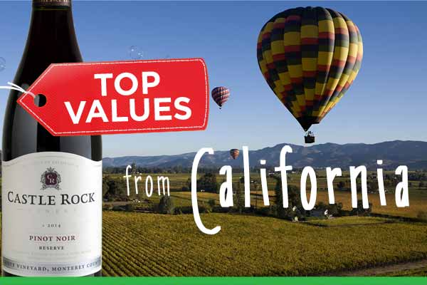 Top Values from California | WineDeals.com