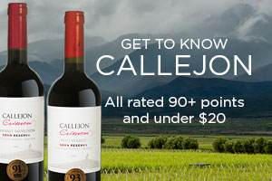 Get to Know Callejon Winery - 90+ pts and under $20 | WineTransit.com