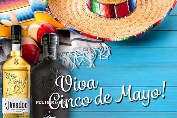 Viva Cinco de Mayo - Save on Tequila, Margarita Mixes and more! | WineTransit.com