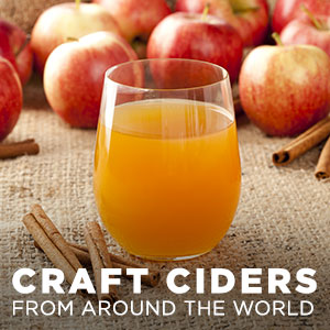 Craft Ciders from Around the World at WineTransit.com
