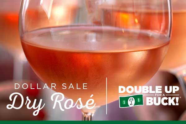 Dollar Sale Dry Rose | WineMadeEasy.com