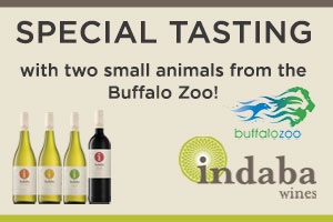 Special Tasting Event with Indaba Wines and The Buffalo Zoo - Saturday, October 22nd! | WineTransit.com
