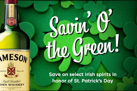 Irish Spirit Deals | WineTransit.com