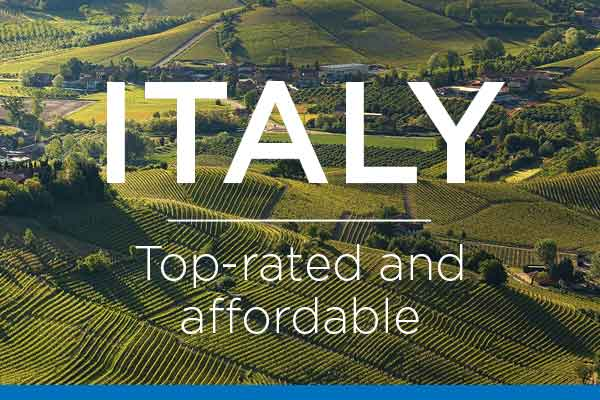 Italy - Top-rated and affordable wines! | WineDeals.com