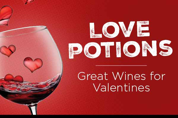 Love Potions - Wines for Valentines | WineDeals.com