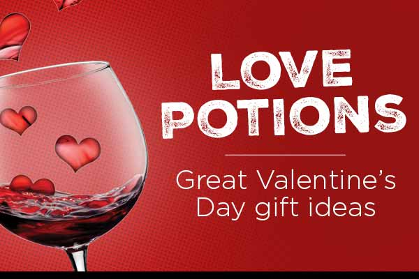 Love Potions - Great Valentine's Day gift ideas | WineTransit.com