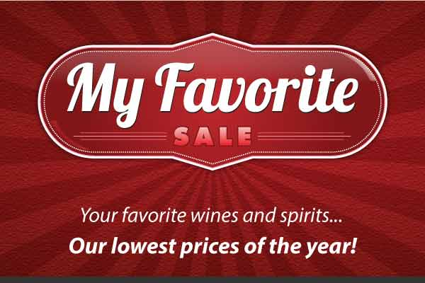 My Favorite Sale | WineTransit.com