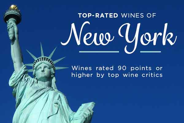 Top-Rated New York Wines | WineDeals.com