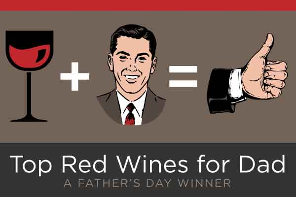 Top Red Wines for Dad | WineDeals.com