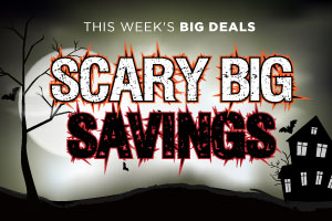 Scary Big Savings for Halloween! | WineTransit.com