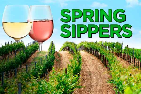 Spring Sippers - Refreshing wines to celebrate the rising temperatures | WineTransit.com