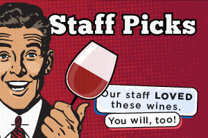 Staff Favorites at WineDeals.com