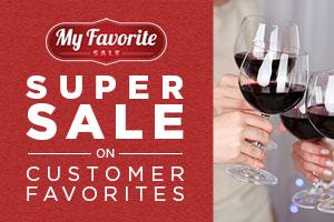 Super Sale on Customer Favorite wines! | WineDeals.com