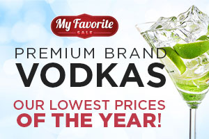 Premium brand vodkas at our lowest prices of the year! | WineTransit.com