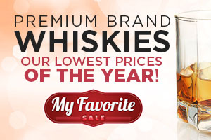 Premium brand whiskies at our lowest prices of the year! | WineTransit.com