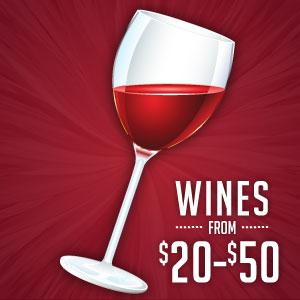 Price Range: $20-$50 at WineDeals.com