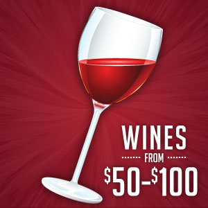 Wines Between $50-$100 at WineMadeEasy.com