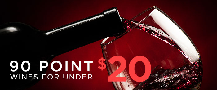90-point wines for under $20