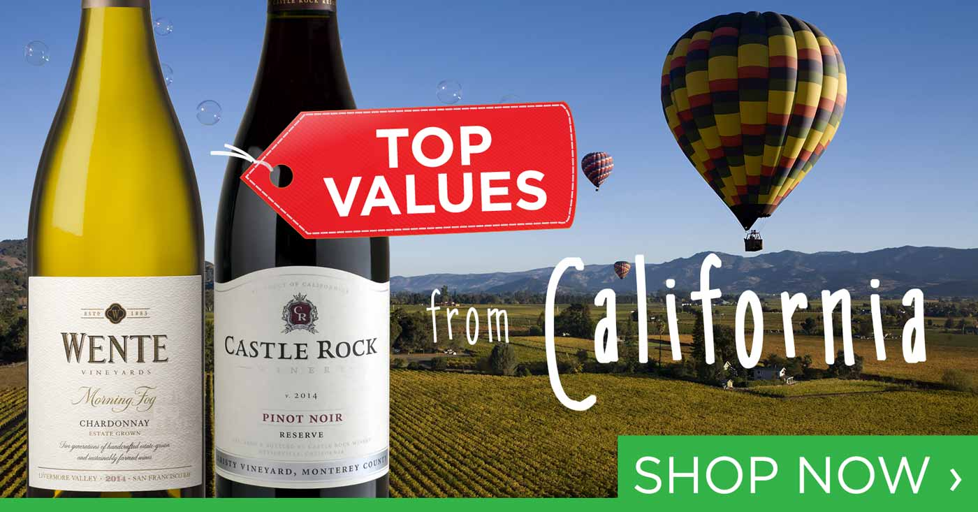 Top Values from California