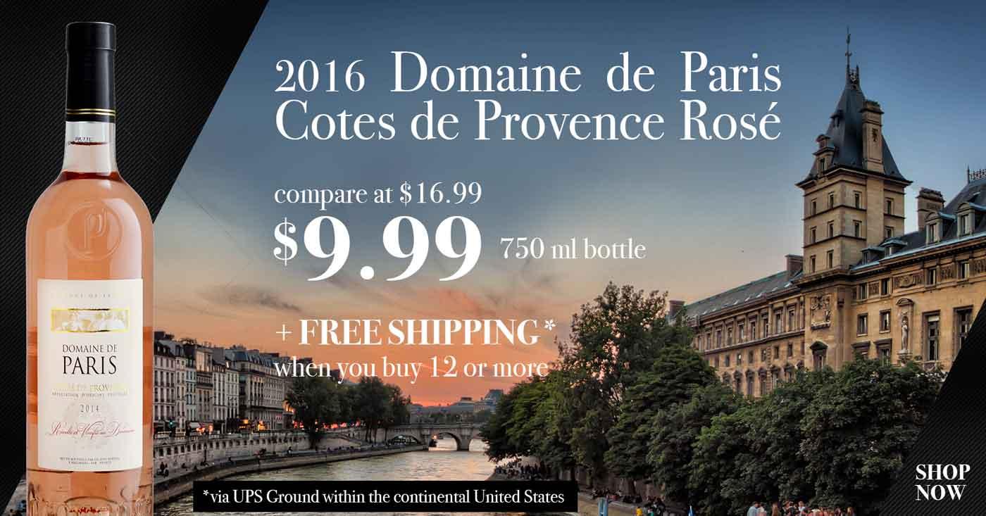 Domaine de Paris Cote de Provence Rose