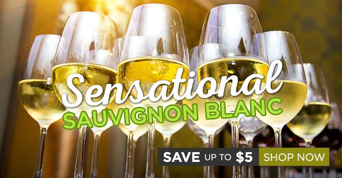 Save up to $5 on sensational Sauvignon Blancs