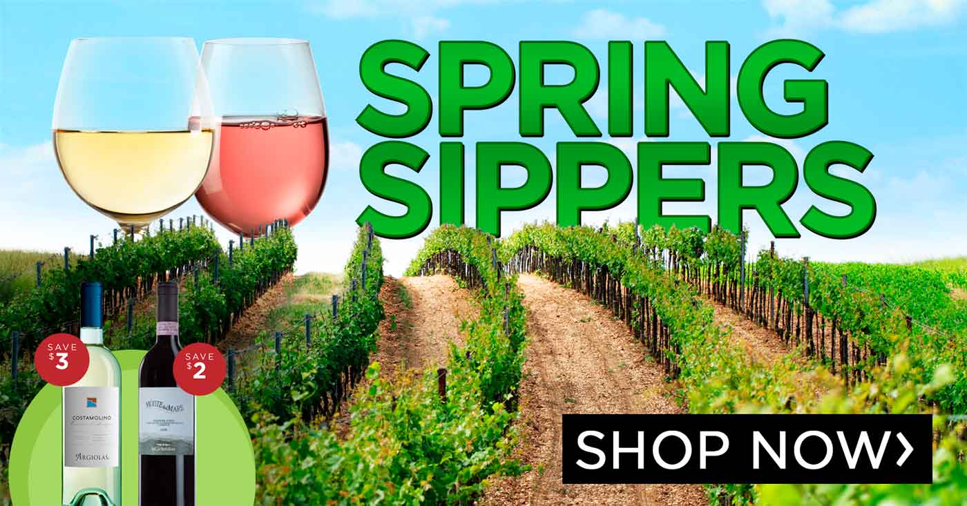 Spring Sippers - Refreshing wines to celebrate the rising temperatures