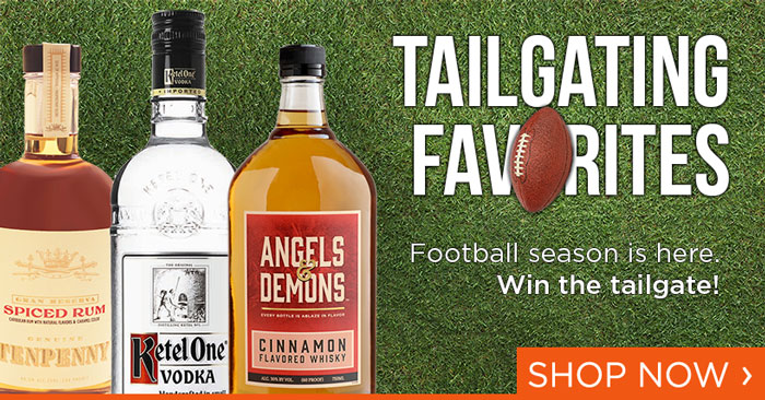 Save on Tailgate Favorites in Spirits