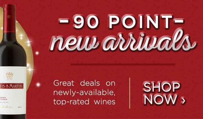 90-point new arrivals at the store
