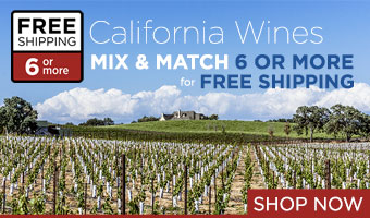 California Wines - FREE Shipping on 6 or more!