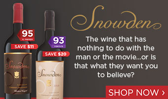 Snowden: The wine that has nothing to do with the man or the movie.