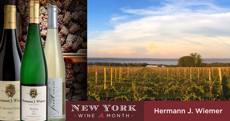 NYS Wine Month: Hermann J. Wiemer