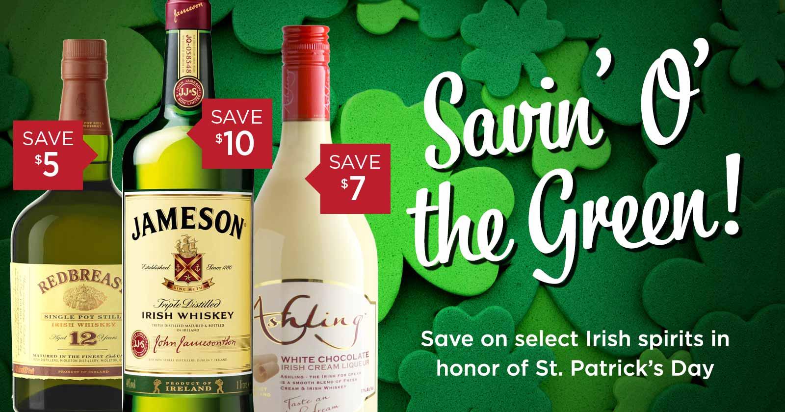 Irish Spirit Deals