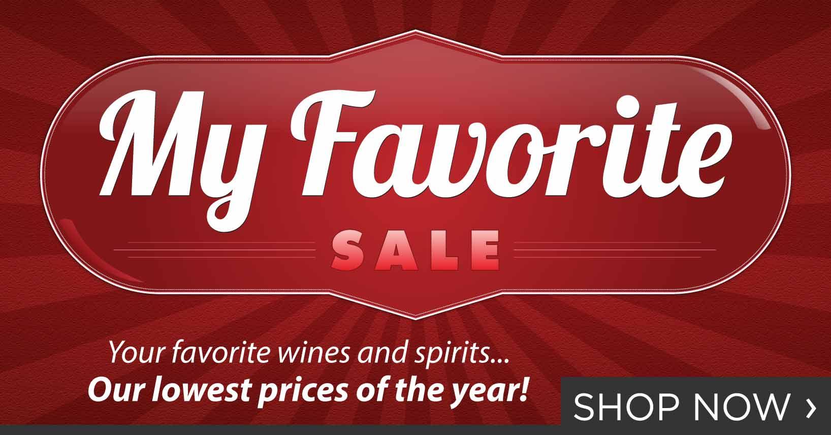 My Favorite Sale