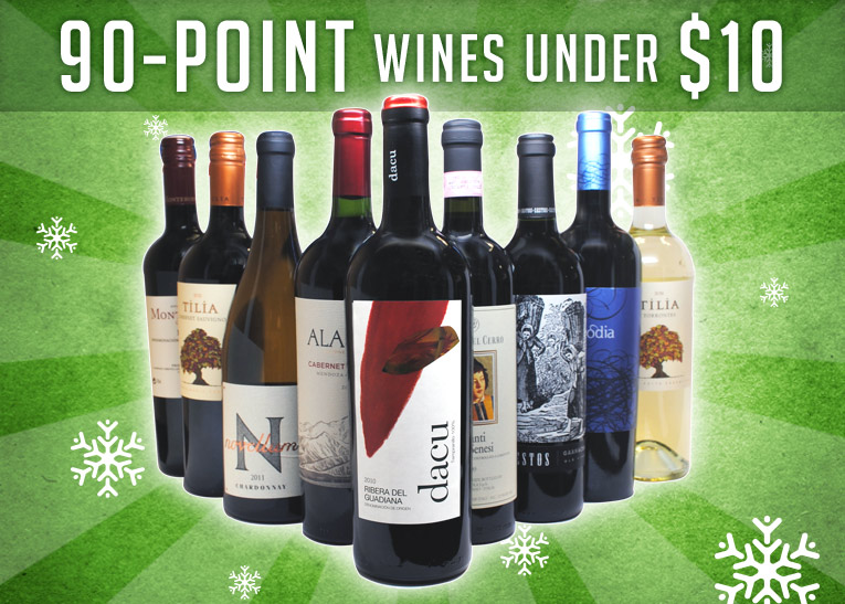 90-point wines for less than $10