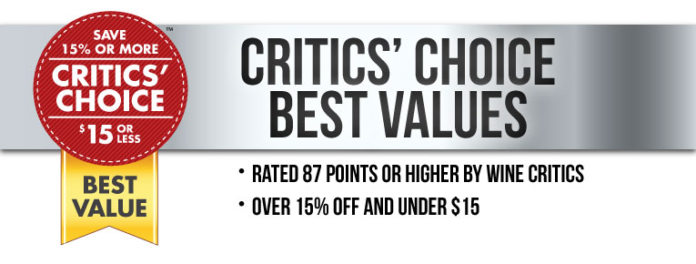 The Critics' Choice Sale - Best Values