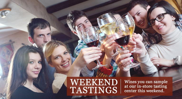 Wine Weekend In-Store Tastings at Premier
