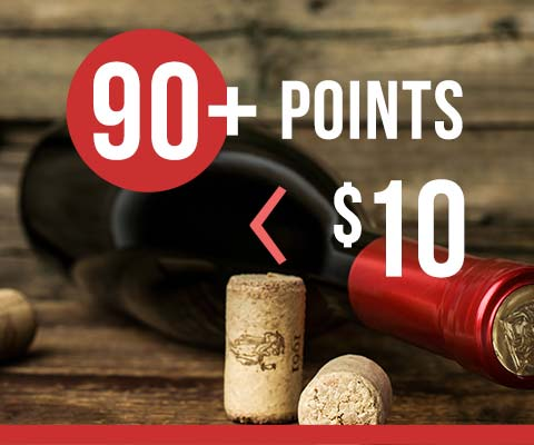 90-Point Wines Under $10 | WineTransit.com