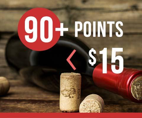 90-Point Wines Under $15 | WineMadeEasy.com