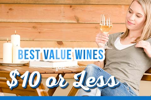 Best Value Wines for $10 or Less   WineDeals.com