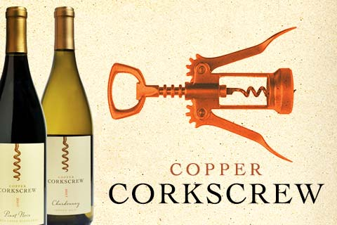 Copper Corkscrew Wines for your Labor Day Celebration   WineTransit.com