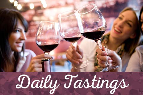 Daily Wine Tastings at our Wine Station | WineTransit.com